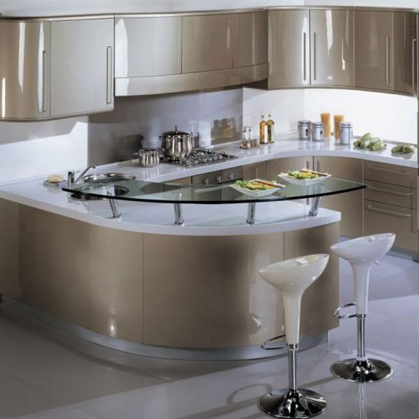 Дизайн кухонного гарнитура в стиле модерн