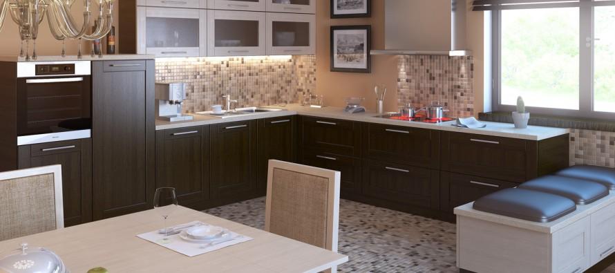 Как собрать кухонный гарнитур
