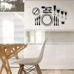 Кухонные интерьерные наклейки