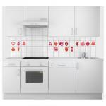 Кухонные стикеры