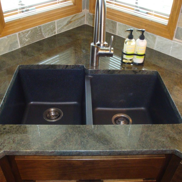 Blanco Kitchen platform granite design