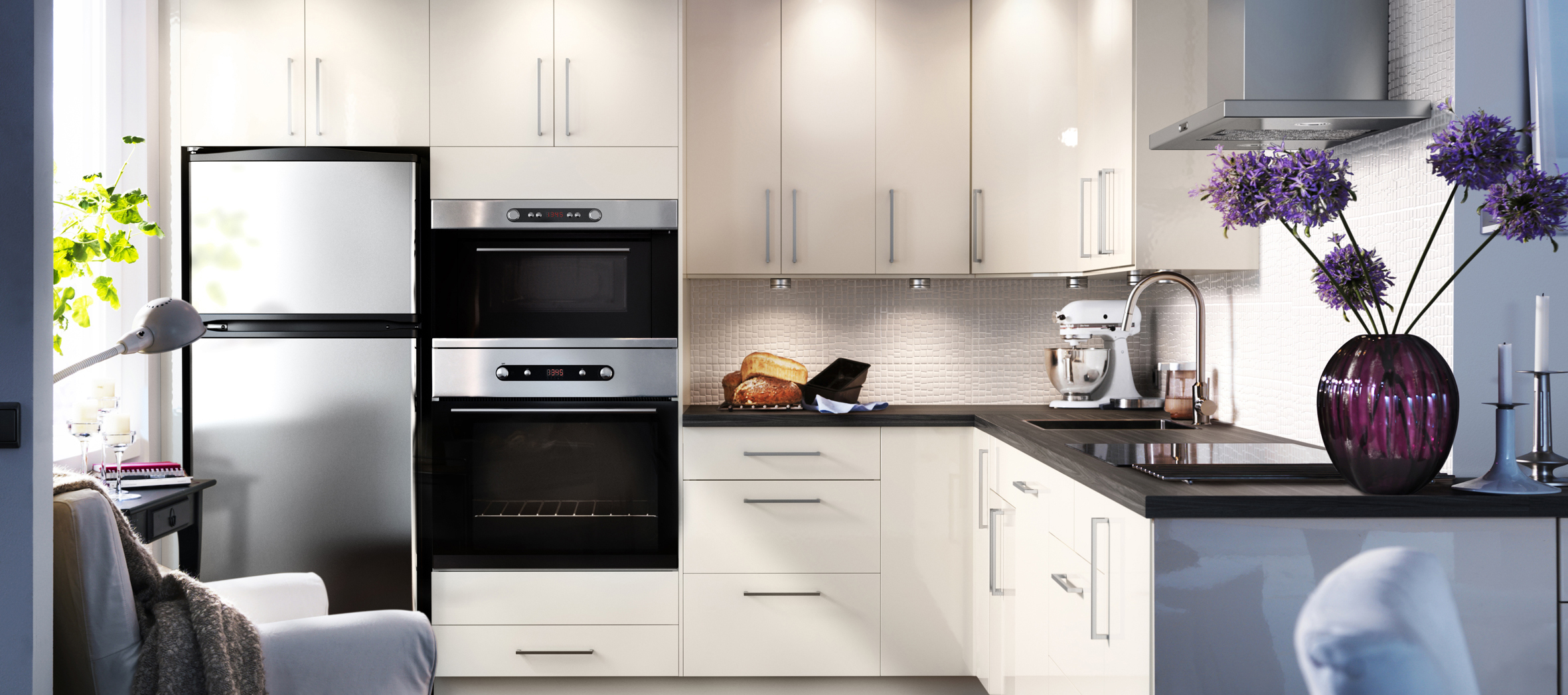 Кухонные гарнитуры Икеа: эргономичность и надежность
