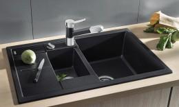 Кухонные мойки из искуственного камня: разновидности, преимущества, отзывы