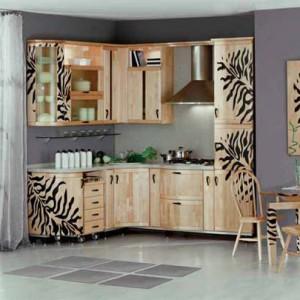 Отреставрированный кухонный гарнитур