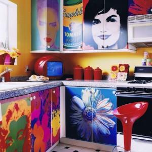 Техника декупажа в дизайне кухни