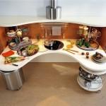 Современная эргономичная кухня