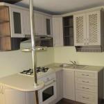 Маленький угловой кухонный гарнитур (фото)