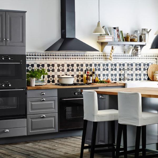 кухонные гарнитуры икеа дизайн и фото