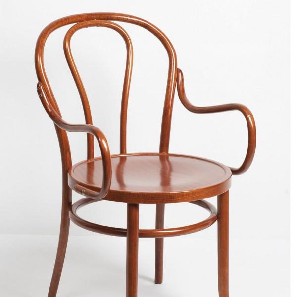 Венский стул с подлокотниками