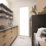 Двухрядная модульная кухня