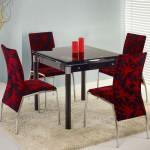 Кухонные стулья с оригинальной обивкой