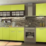 Линейная модульная кухня