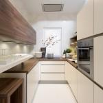 Модульная кухня Nolte на узкой кухне
