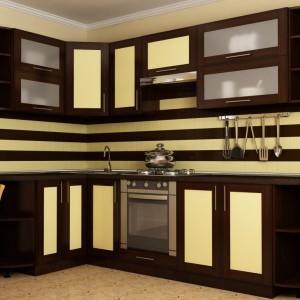 Модульная кухня с рамочными фасадами