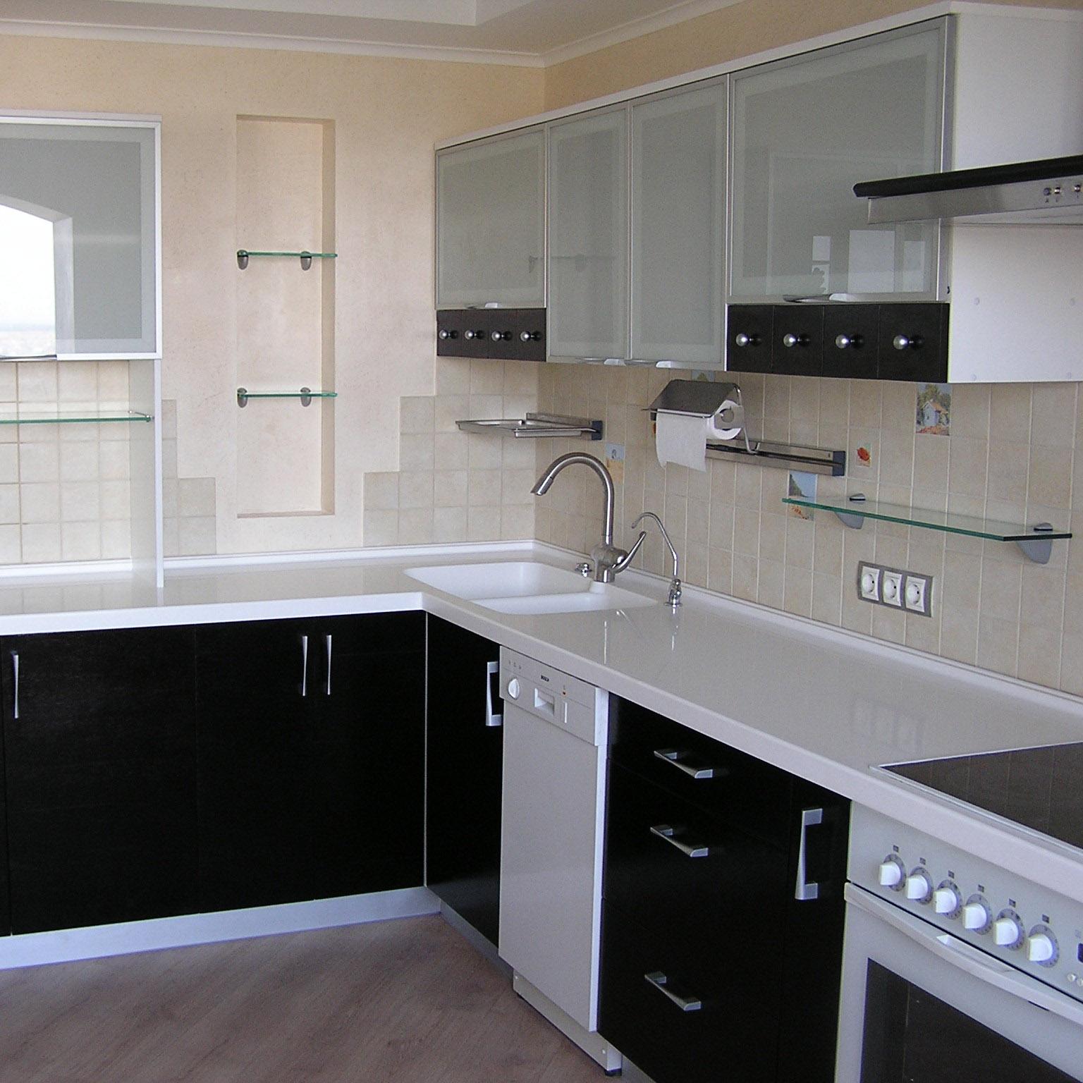 Ремонт кухни угловой фото
