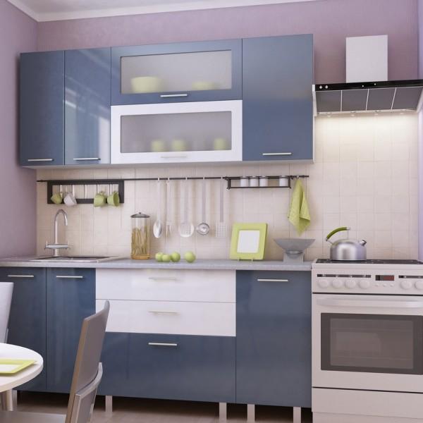 Небольшая модульная кухня