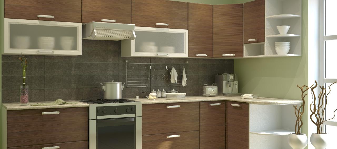 Угловые модульные кухни: практичное решение