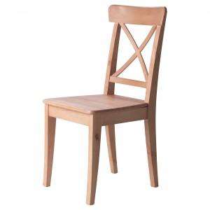 деревянный стул от икеа