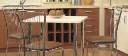 Мягкие металлические стулья: как выбрать каркас, обивку и наполнитель?