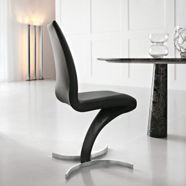 итальянский стул на металлическом каркасе