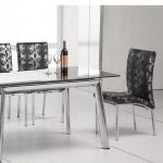 кухонные стулья на металлическом каркасе