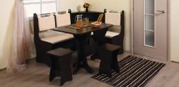 Кухонный уголок для маленькой кухни: размеры, особенности, фото