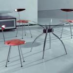 металлические кухонные стулья