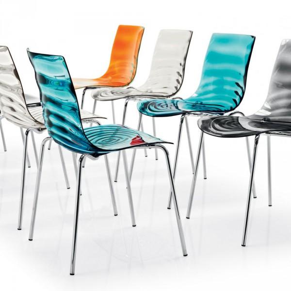 металлические стулья L'EAU (Италия)