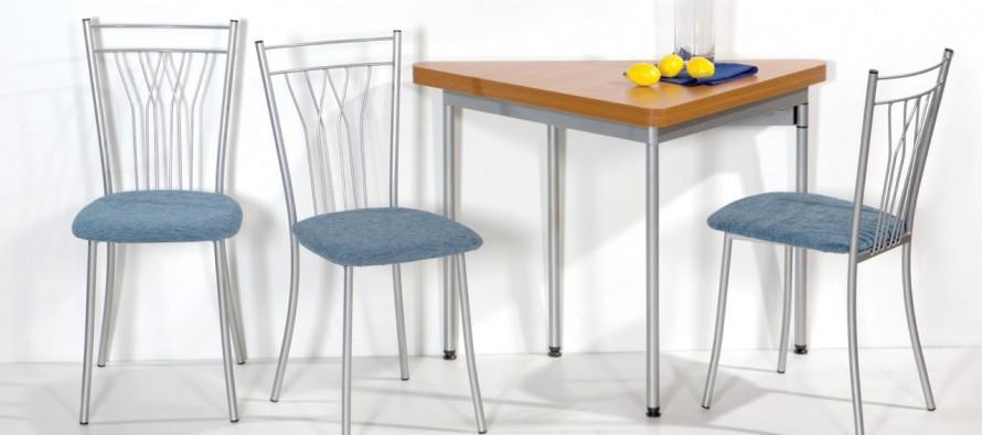 разновидности металлических кухонных стульев