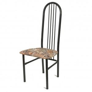 металлический стул мягкий для кухни