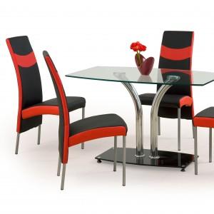 мягкие металлические кухонные стулья