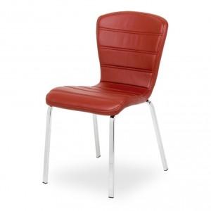 мягкий металлический стул