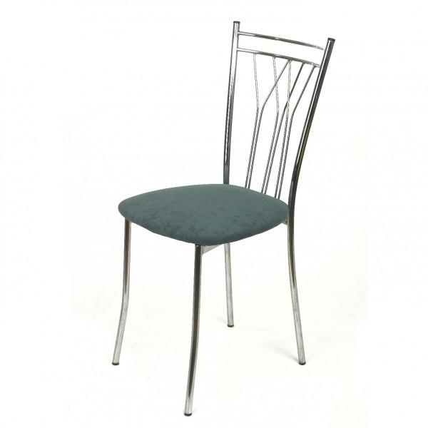 мягкий стул с обивкой из флока