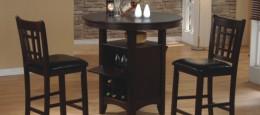Деревянные барные стулья для кухни: современная классика