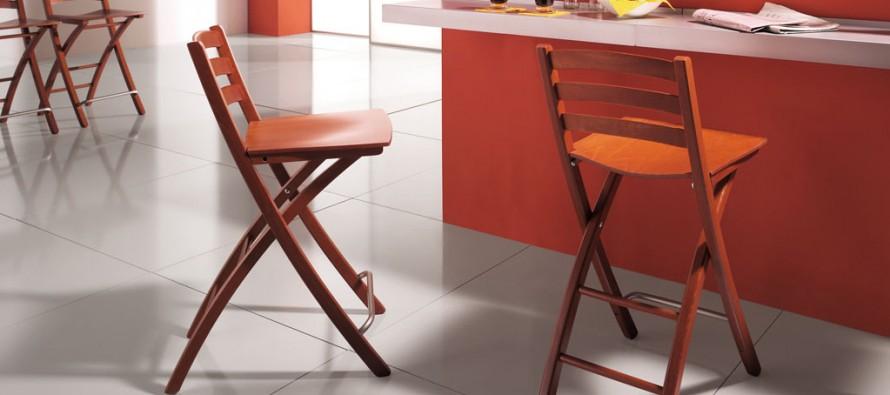 складной барный стул миниатюра