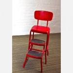 Складной барный стул-стремянка
