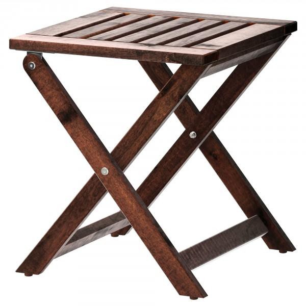 складной деревянный табурет икеа