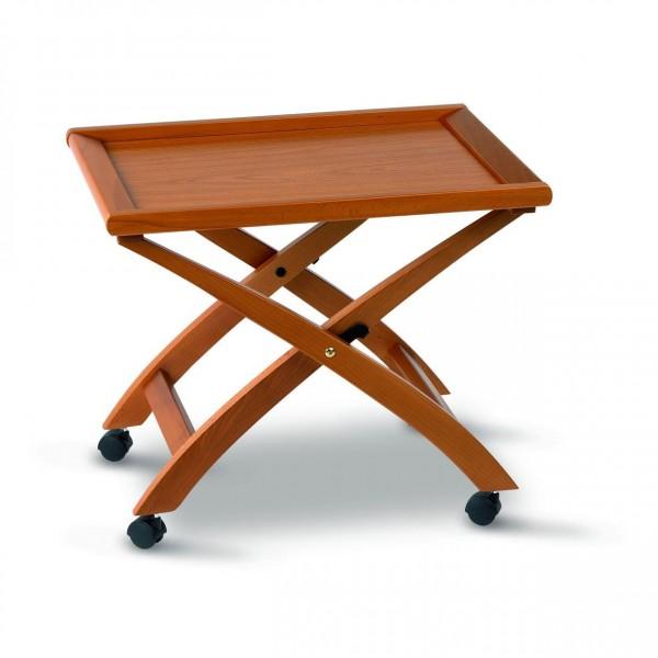 Складной сервировочный столик простой конструкции