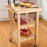 Деревянный складной столик