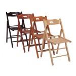 Складные деревянные стулья