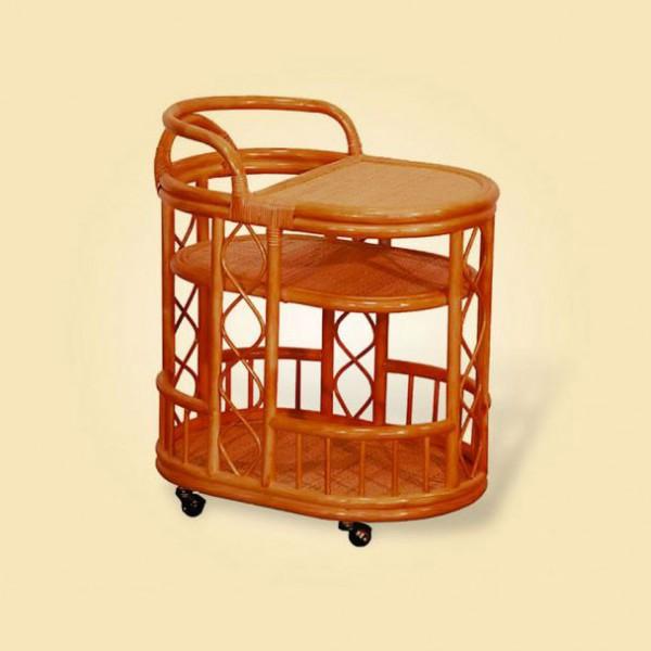 столик из ротанга