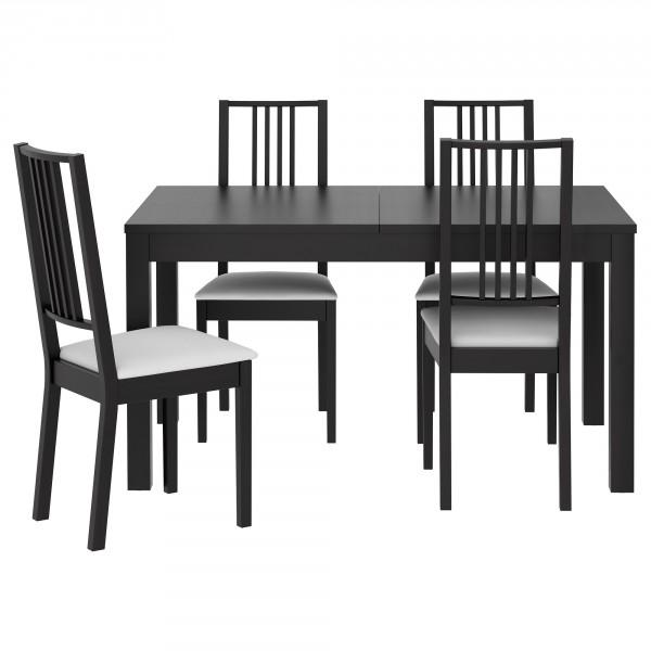 стулья Икеа Бёрье на кухне