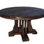 Деревянный стол из натурального дерева