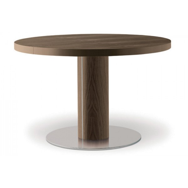 Стол круглый деревянный на одной ножке