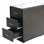Стол-книжка с боковыми выдвижными ящиками