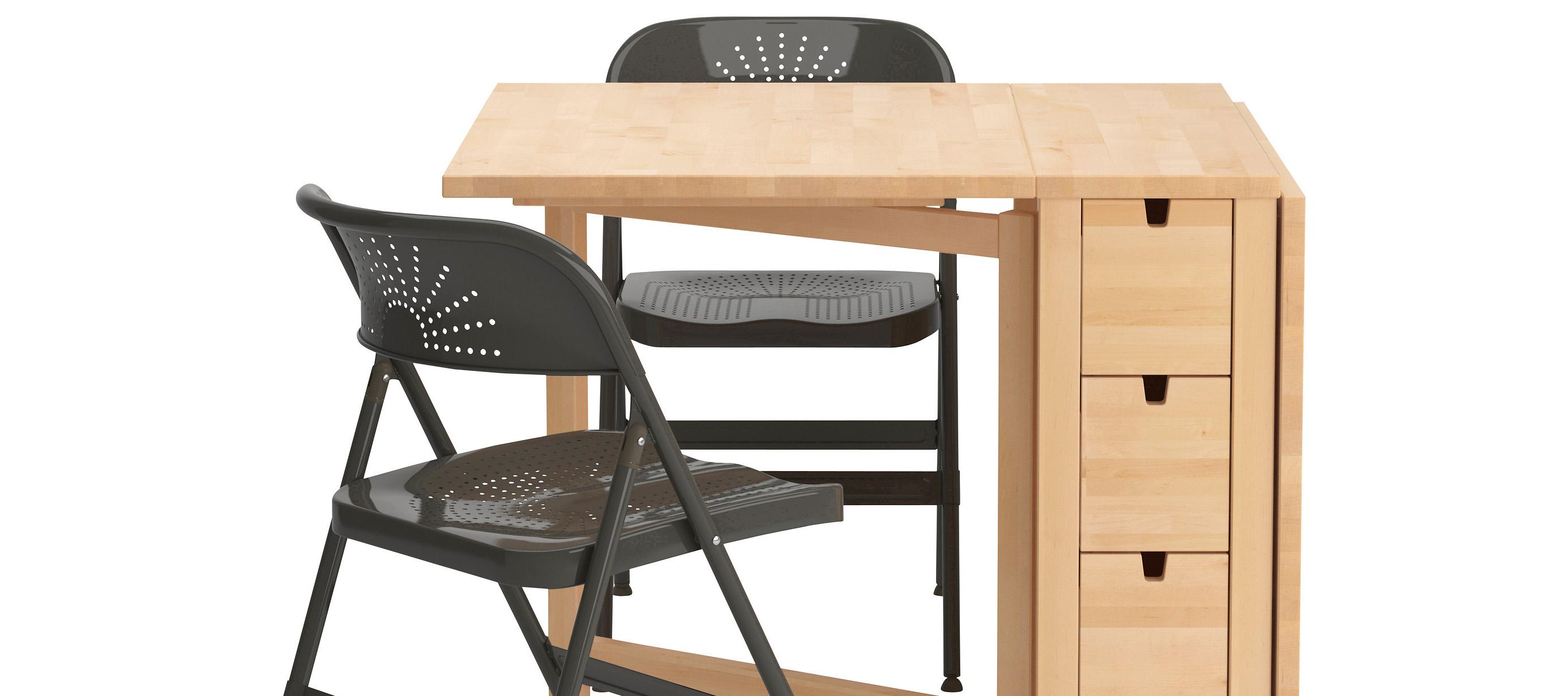 Стол-книжка Икеа: творческий подход к мебели