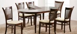 Деревянные раздвижные обеденные столы и их конструктивные особенности