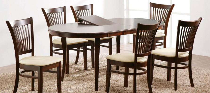 деревянный раздвижной обеденный стол