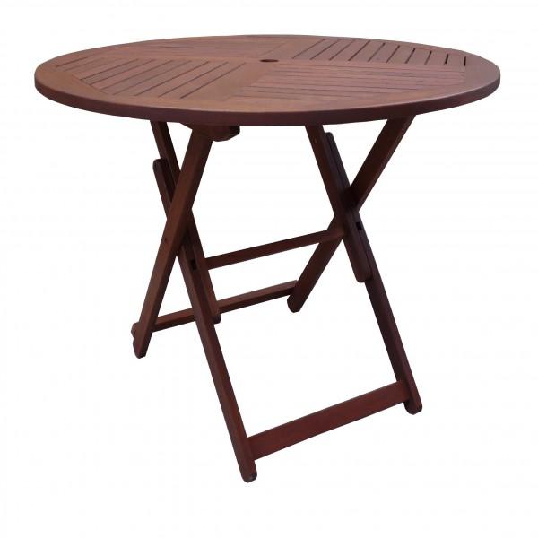 круглый складной стол