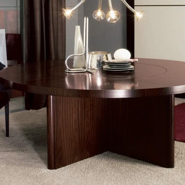 круглый стол италия дуб